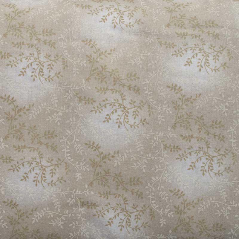 108 Quot Wide Tonal Vineyard Natural Khaki Cotton Quilt