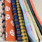 Prints, Flannel and Fleece