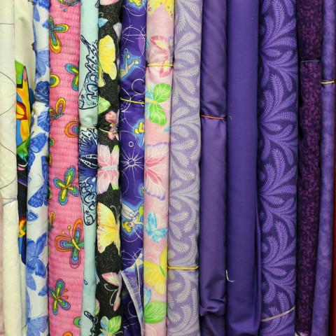 New Fabric Purples