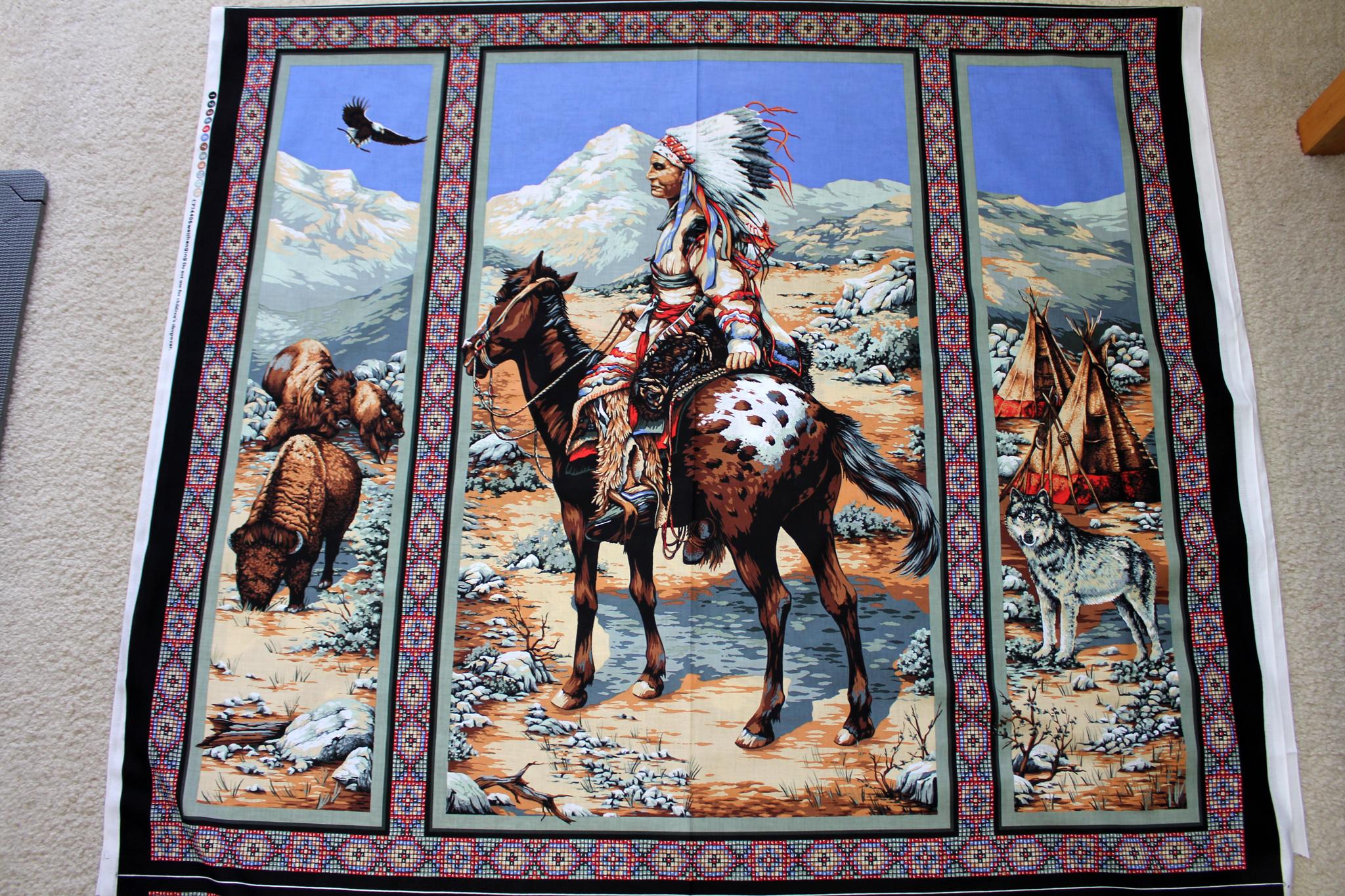 Native Spirit Wall Hanging
