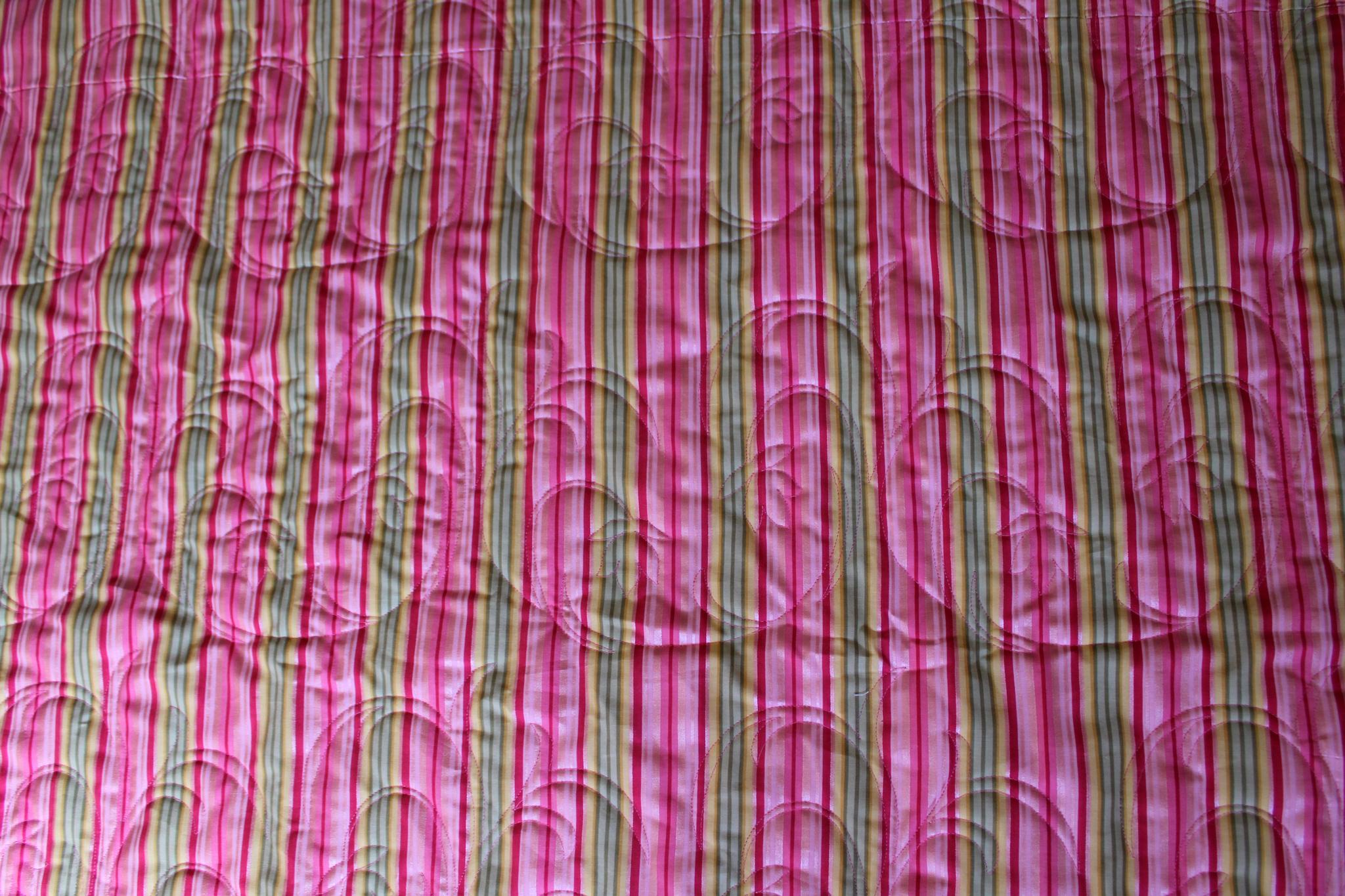 Pink Three Six Nine Quilt
