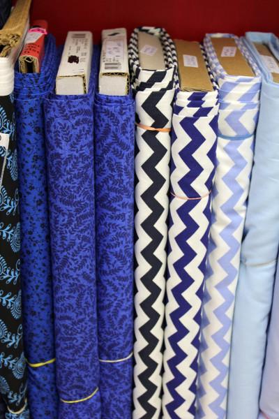 Blue Cotton Prints