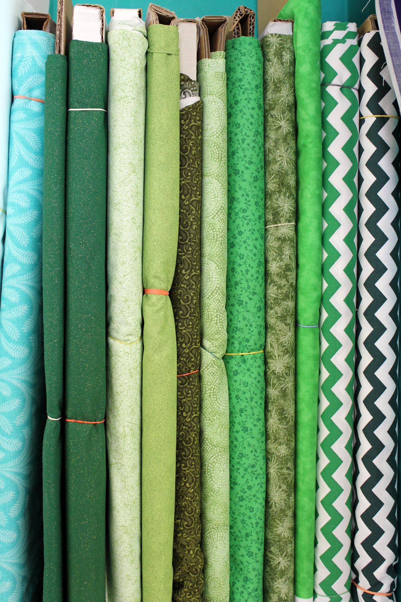 Green Cotton Prints