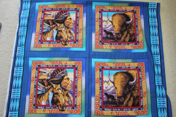 Tribal Elements Pillow Panel