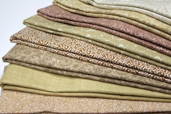 Khaki and Natural Prints