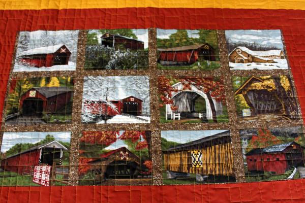 Barns and Bridges Quilt