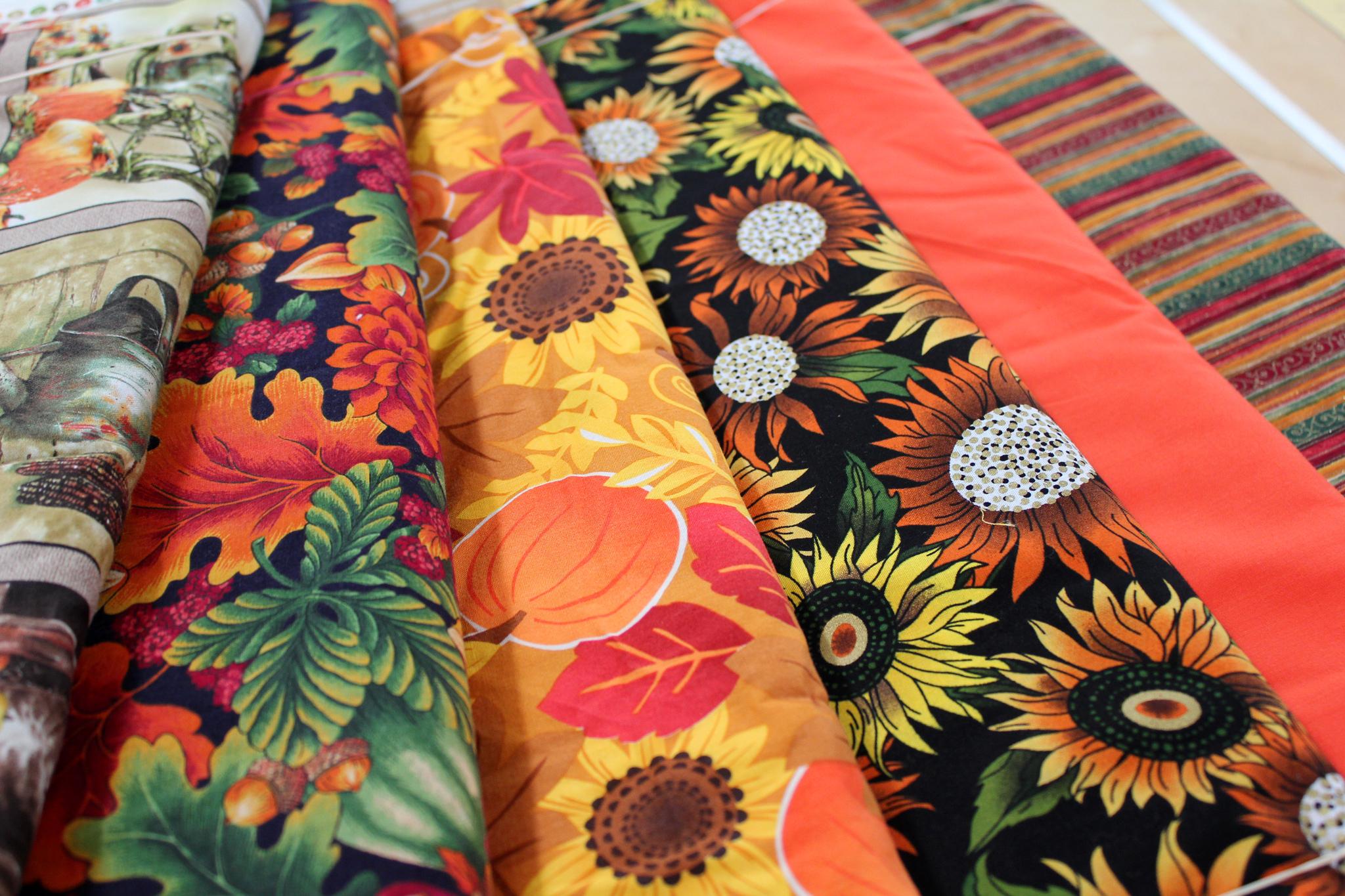 Fall Cotton Prints
