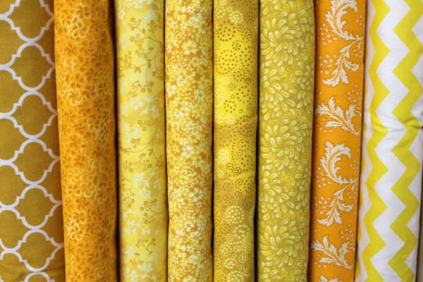 Yellow Cotton Prints