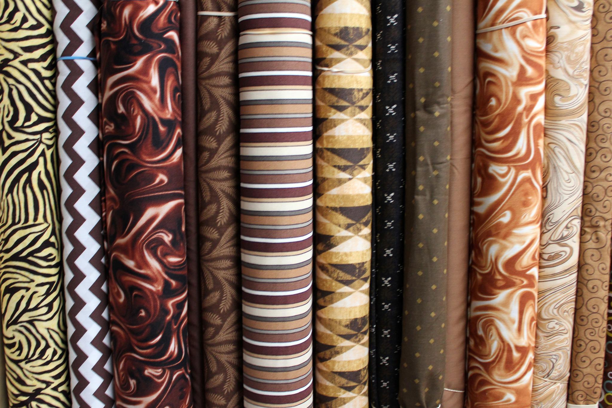 Brown Cotton Prints