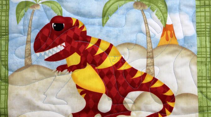 Dinosaur Baby Quilt
