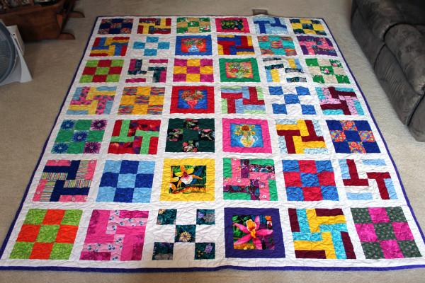 Lynda's Patchwork Quilt