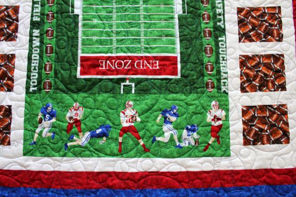 Boy's Football Quilt