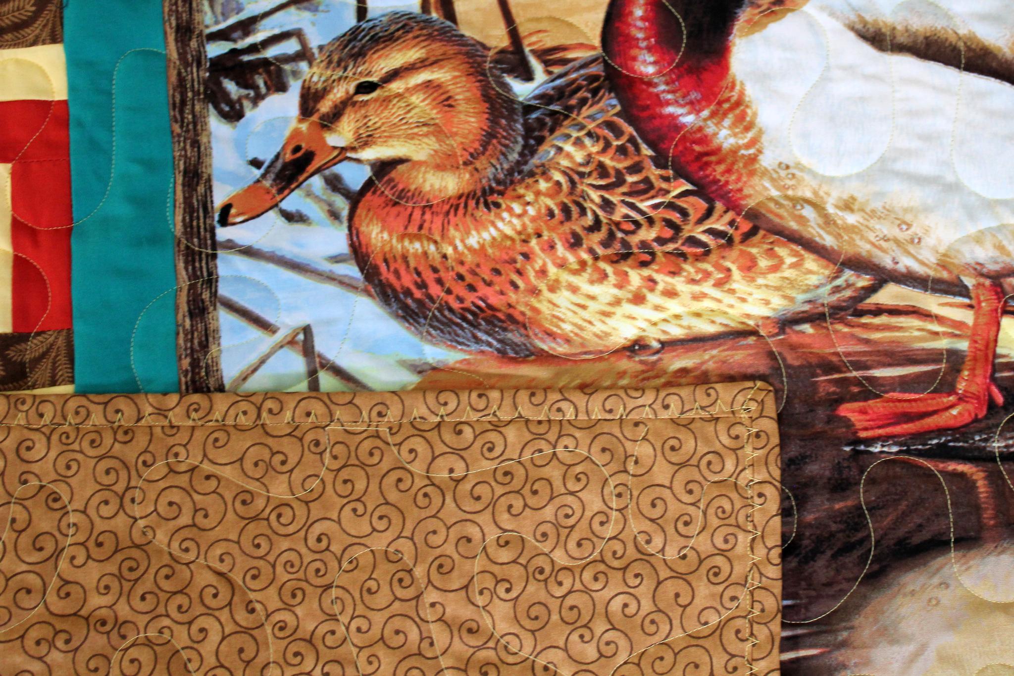 Ducks Quilt