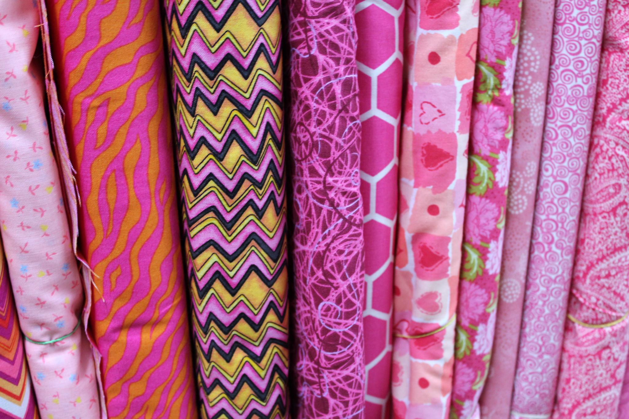 Pink Cotton Prints