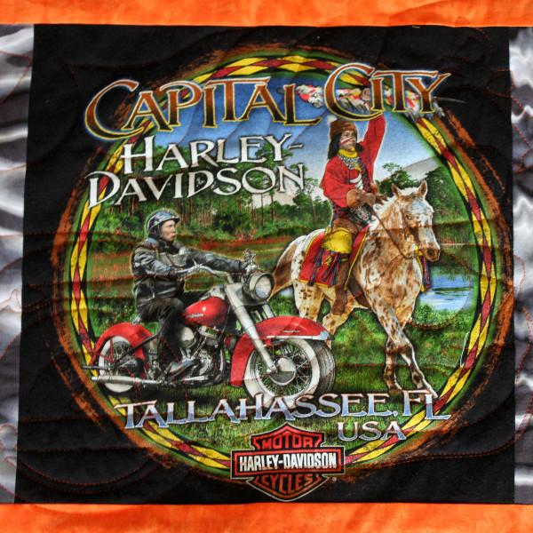 Harley-Davidson T-Shirt Quilt