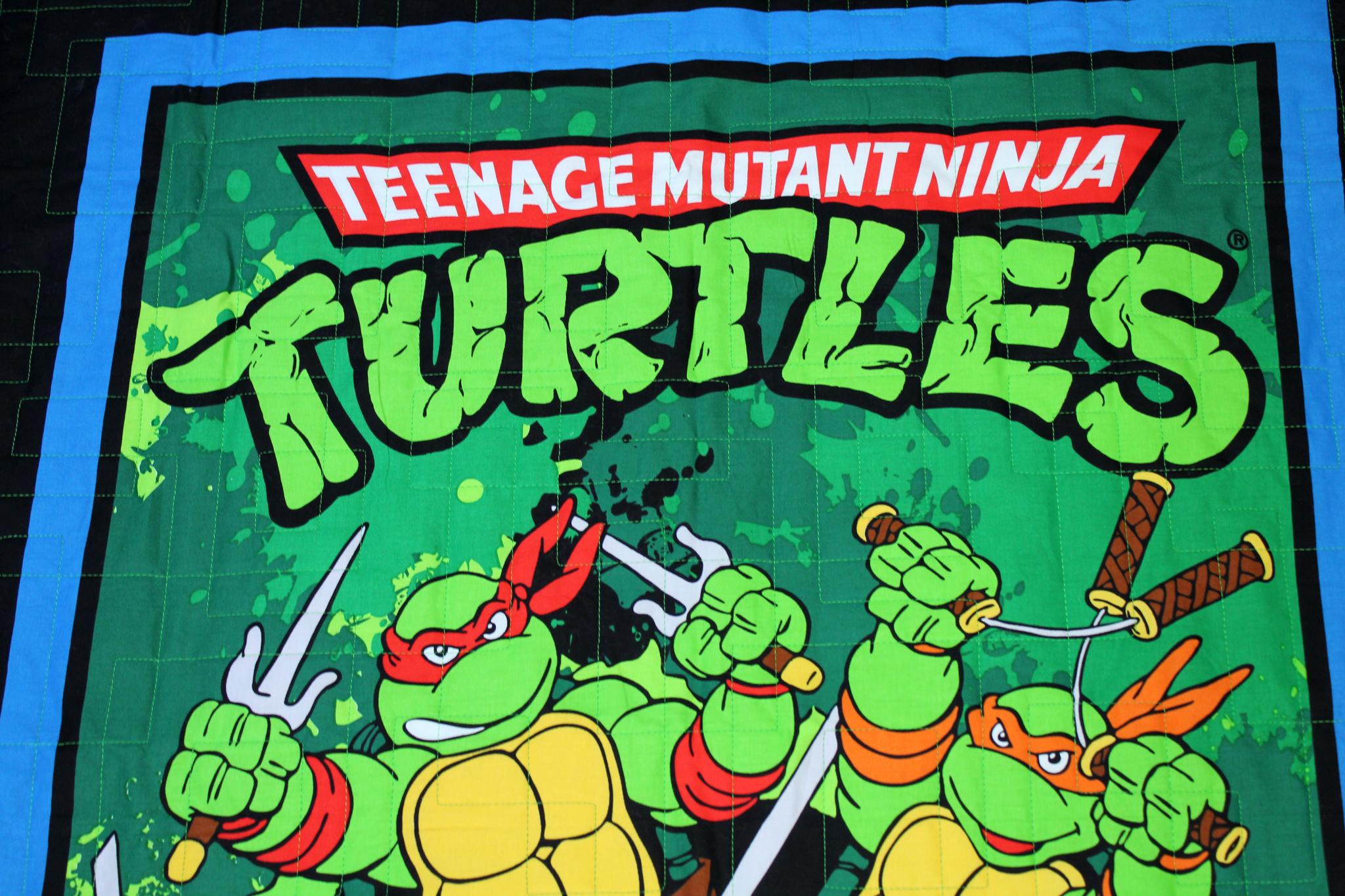 Teenage Mutant Ninja Turtles Quilt