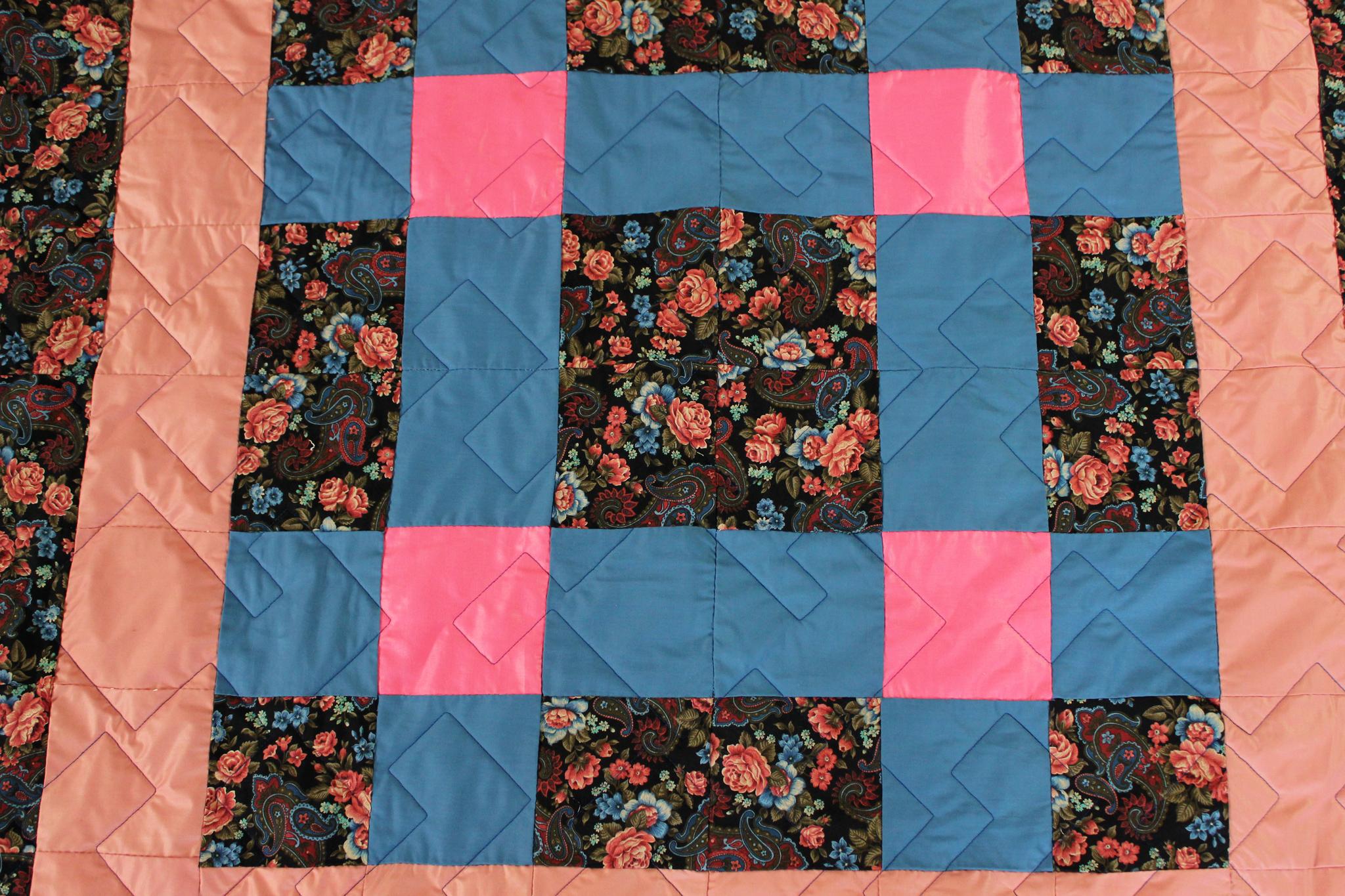 Squares in Squares Quilt