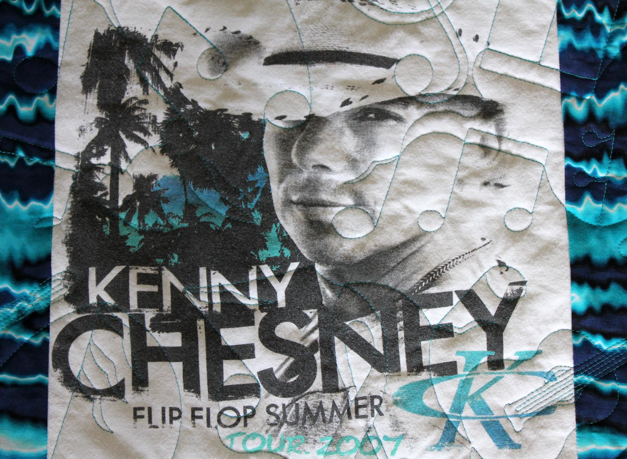 Kenny Chesney Quilt