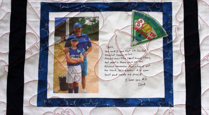 Sara's Softball Quilt