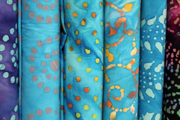 Blue Batiks