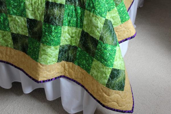 Leigh's Cross Quilt