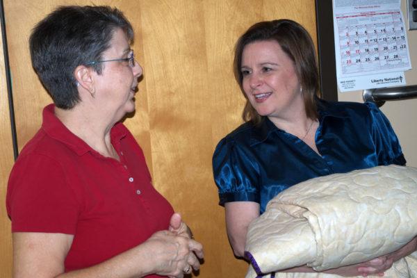 Lynda and Leigh