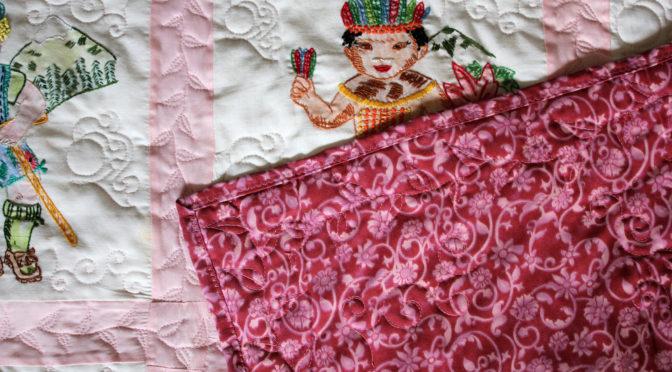 Dolls From Around The World Quilt