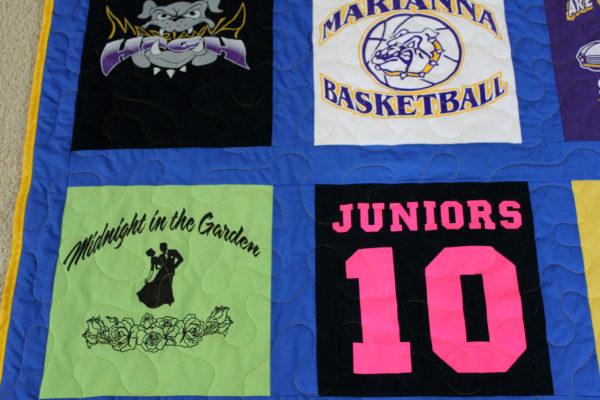 Jordan's T-Shirt Quilt