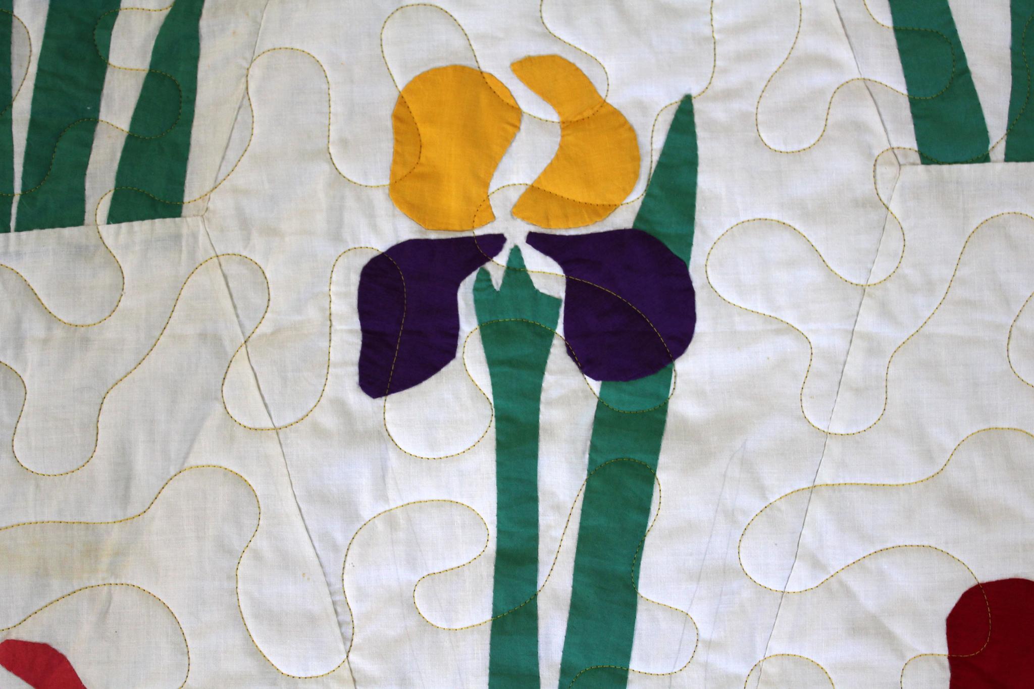 Iris Quilt