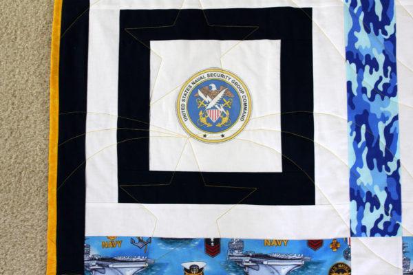 US Navy CTR Throw for Kim Truett