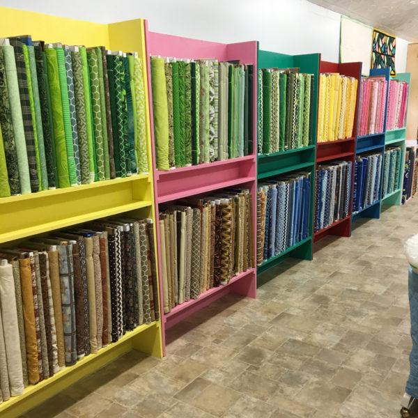 Shelves for Fat Quarters