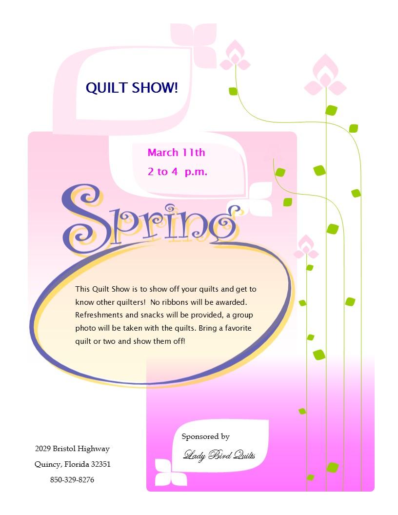 Spring 2017 Quilt Show