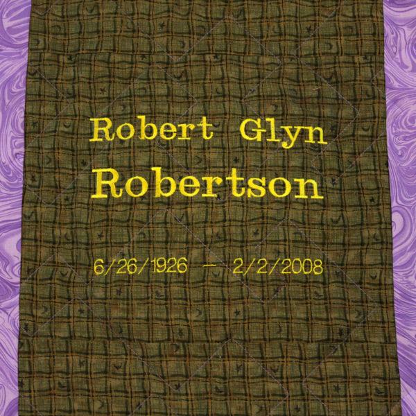 Tie Quilt – Robert Glyn Robertson
