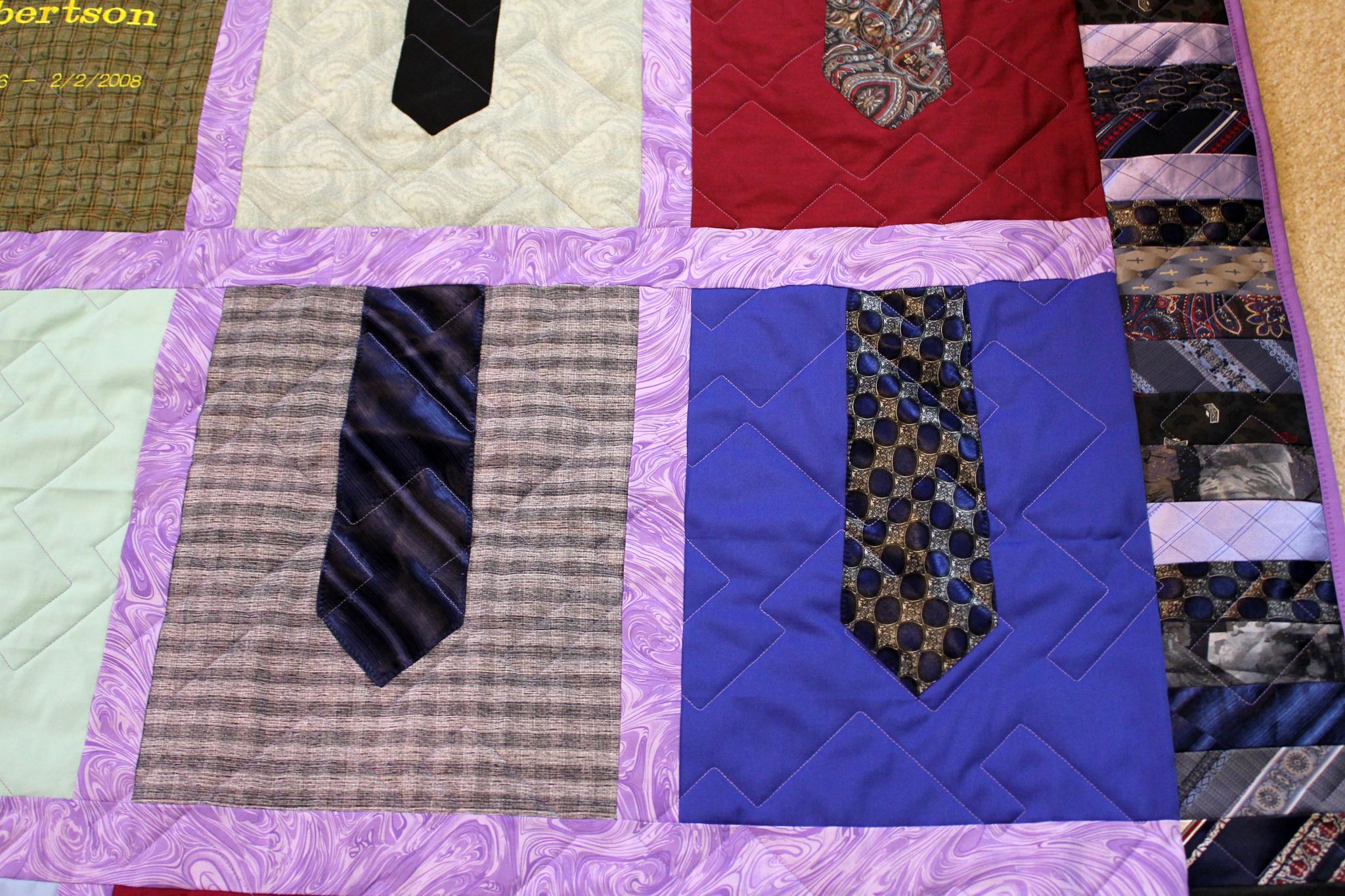 Tie Quilt