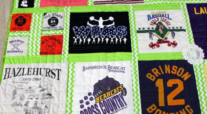 Lauren's T-Shirt Quilt!