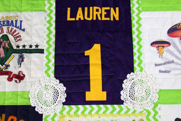 Lauren's T-Shirt Quilt