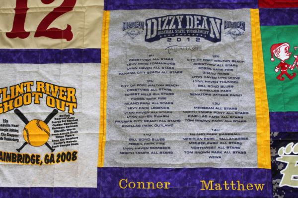 Conner's T-Shirt Quilt
