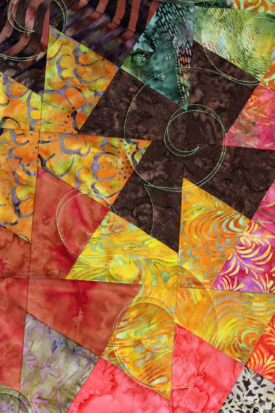Batik Twister Quilt