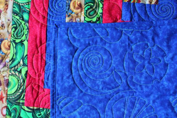 Elemental Spiral Quilt