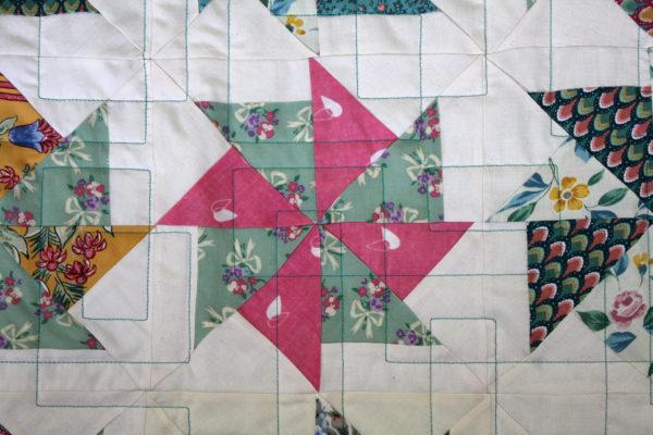 Beth's Pinwheel Quilt