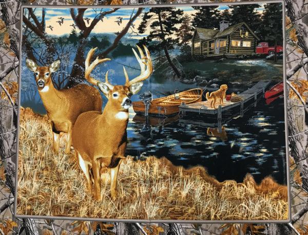 Realtree Lakeside Sunset Panel
