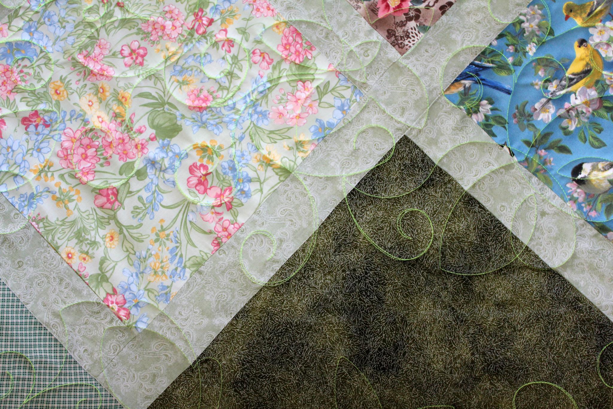 Mary's Flower Garden Quilt