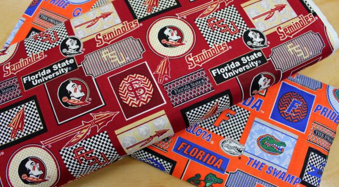 FSU and UF Patch Prints