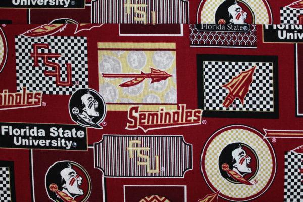 FSU Seminoles Patch Print
