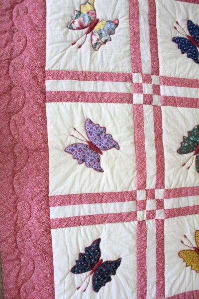 Butterfly Applique Quilt