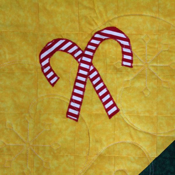 John Deere Christmas Tree Quilt