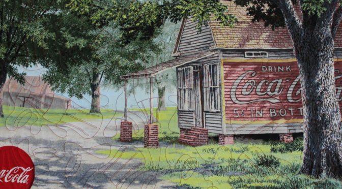 Coca-Cola Panel Throw