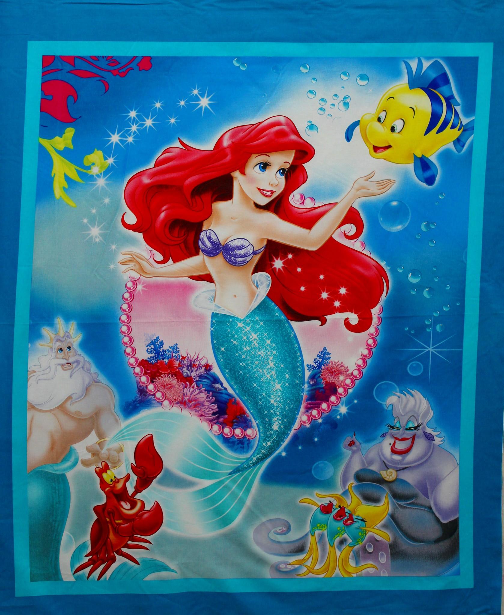 Little Mermaid Panel