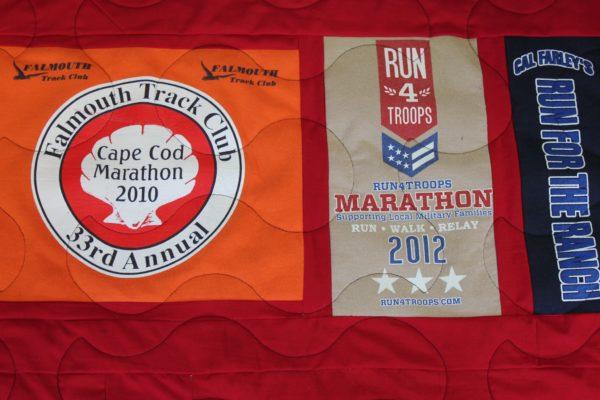 Marathon T-Shirt Quilt