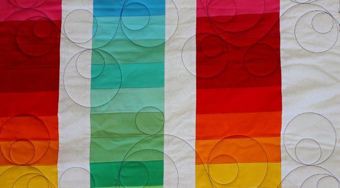 Rainbow Quilt!